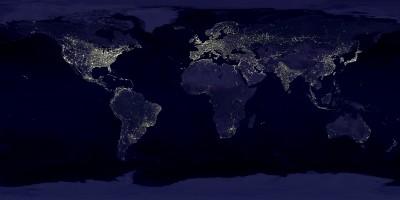 inquinamento luminoso terrestre
