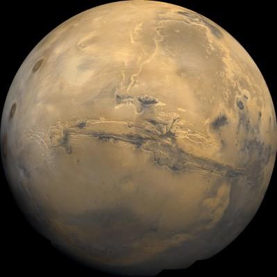 Marte in tutta la sua BELLEZZA.