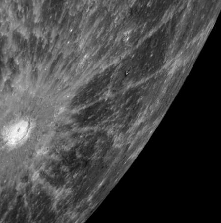Immagine ripresa dalla MESSANGER il 20/10/2008 (NASA copyright)