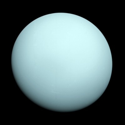 URANO ripreso dalla sonda Voyager 2