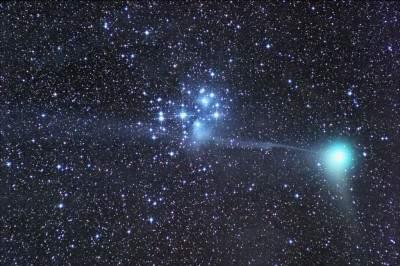 Cometa Machholz gennaio 2005