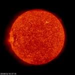 Il Sole fotografato da SOHO il 18 aprile 2008
