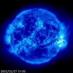 il Sole ripreso da SOHO