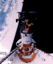Lo Shuttle rilacia la sonda Galileo nello spazio