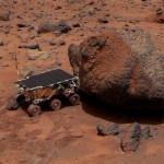 Marte - il rovers Soujourner nel 1997