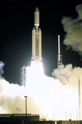 Lancio della Cassini Huygens 15/10/1997 ad opera del vettore Titan IVB / Centaur