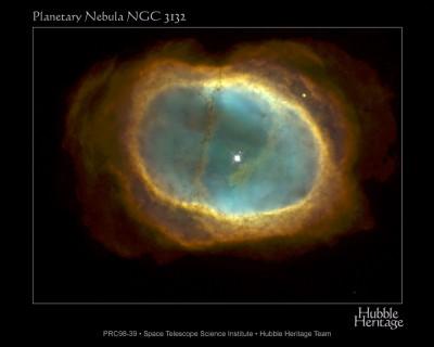 NGC 3132 nebulosa planetaria nella costellazione delle Vele