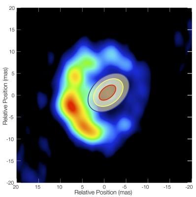 RS Ophiuchi - spettro dellespansione