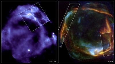 RCW 86 resto di supernova
