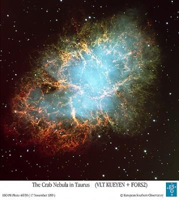 Nebulosa del Granchio - credits: