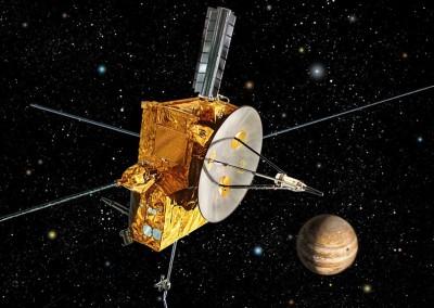 Rappresentazione artistiche della sonda Ulysses