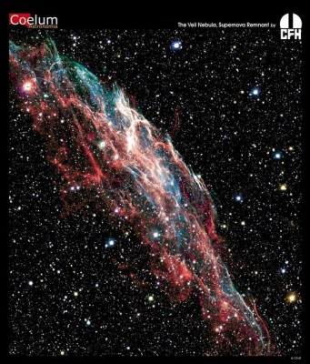 Resto di supernova nella costellazione del Cigno a 2000 anni luce dalla Terra (Nebulosa della Vela)