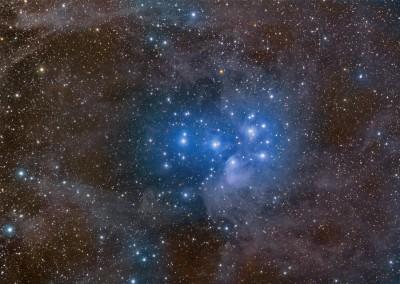 L'ammasso aperto delle Pleiadi - Copyright Rogelio Bernal Andreo