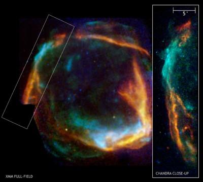 RCW 86 probabile residuo della supernova del