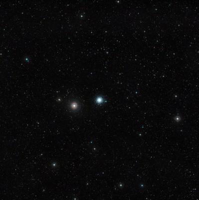 Fotografia a campo largo dellammasso globulare M 30 oggetto della ricerca del team italiano