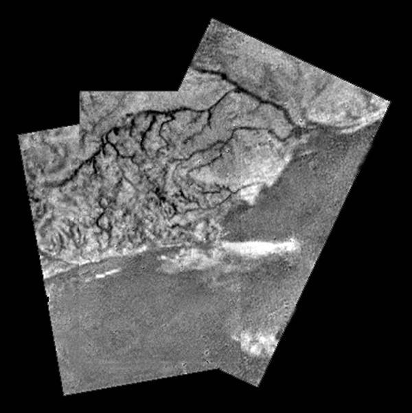 Titano vista dall'alto - Credits NASA