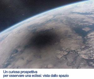 Eclisse di Sole fotografata dalla MIR nel 1999 -