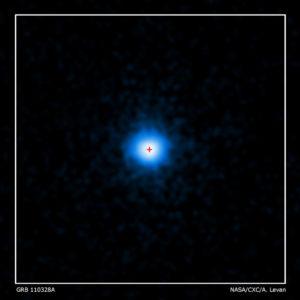 Ecco lo stesso GBR visto con gli occhi di Chandra - Credits: NASA/CXC/ Warwick/A. Levan