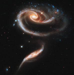 Interazione fra galassie (Arp 273) - Credits: NASA/Hubble