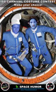 Space Humor: Paolo e Dima - Copyright Riccardo Rossi