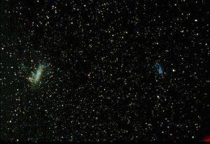 La Nubi di Magellano: le nostre due galassie satelliti principali - Credits: W. Keel