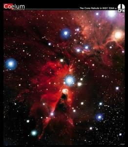 Nebulosa Cono a 2700 anni luce: nuove stelle stanno nascendo al suo interno - Credits: NASA