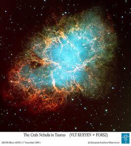 Nebulosa del Granchio - Credits: VLT