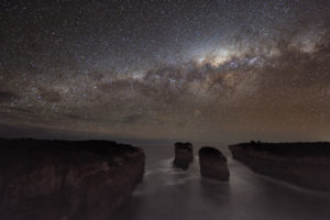 La Via Lattea vista dall'australia - Credit: Alex Cherney (Terrastro)