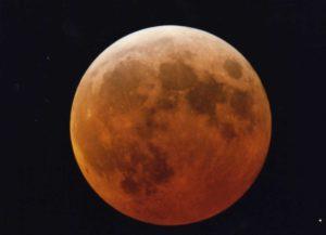 Foto personale dell'eclissi di Luna del marzo 2007