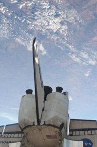 STS 134 la coda e i motori dello Shuttle Endeavour - Credits NASA