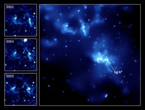 La radiosorgente Sagittarius A - Credits: NASA/Chandra