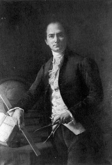 Jean-Baptiste Delambre - ritratto di Henri Coroênne