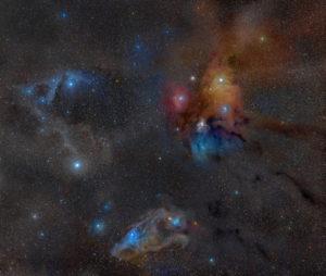 Nebulosa Rho Ophiuchi - Credits: ESO