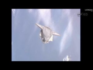 STS 135 Atlantis - Credits: NASAtv