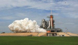 STS 135 Atlantis lift-off 01 - Credits: Stephen Clark-Spaceflight Now