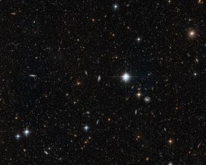 Galassia di Andromeda (M 31): particolare ripreso nell'alone - Credits; ESA/NASA/Hubble Space Telescope