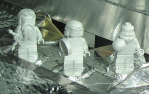 Juno e gli omini di LEGO - Credits: NASA/LEGO
