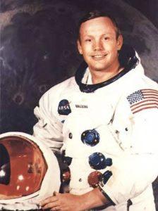 Neil Armstrong - credits: NASA