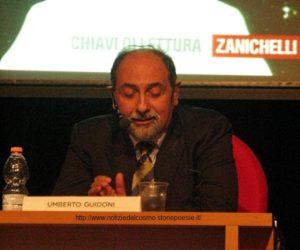 Umberto Guidoni durante la coferenza del 19 settembre 2011
