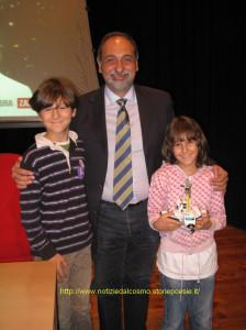 I miei bimbi e Umberto Guidoni