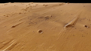 Marte: Oraibi crater - Credits: ESA-DLR-FU Berlin (G. Neukum)