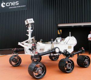 Rover Curiosity - Credits: NASA/JPL