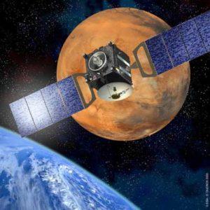 Concezione artistica della Mars Express - Copyright degli aventi diritto