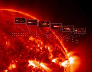 cometa C/2011 N3 immagini prese dal satellite Soho - credits: Science-AAAS