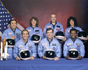 Equipaggio del Challeger - Credits: NASA