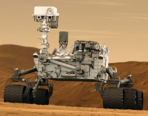 Il rover Curiosity (MSL) - Credits: NASA