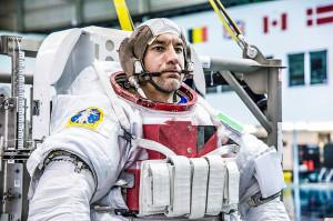 L'astronauta italiano Luca Parmitano - Credits: NASA