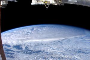 Foto scattata da Nespoli durante la sua permanenza nello spazio a bordo della ISS - Credits: ESA/NASA