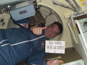 In volo verso la ISS - Credits: ESA/NASA