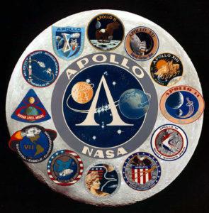 logo del programma Apollo - Credits: NASA